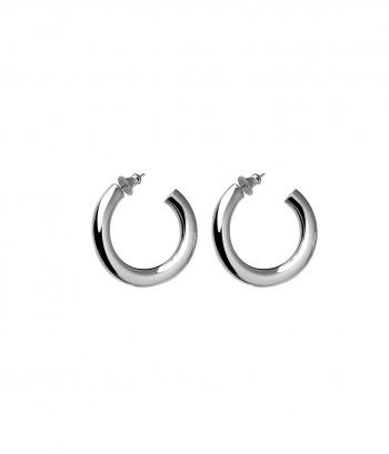 Boucles d'oreilles créoles en Argent massif