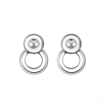 Christofle Boucles d'oreilles pendantes en Argent massif collection Idole 06700304