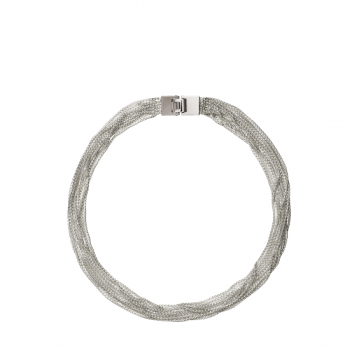 Christofle Collier ras du cou multi-rangs en Argent massif